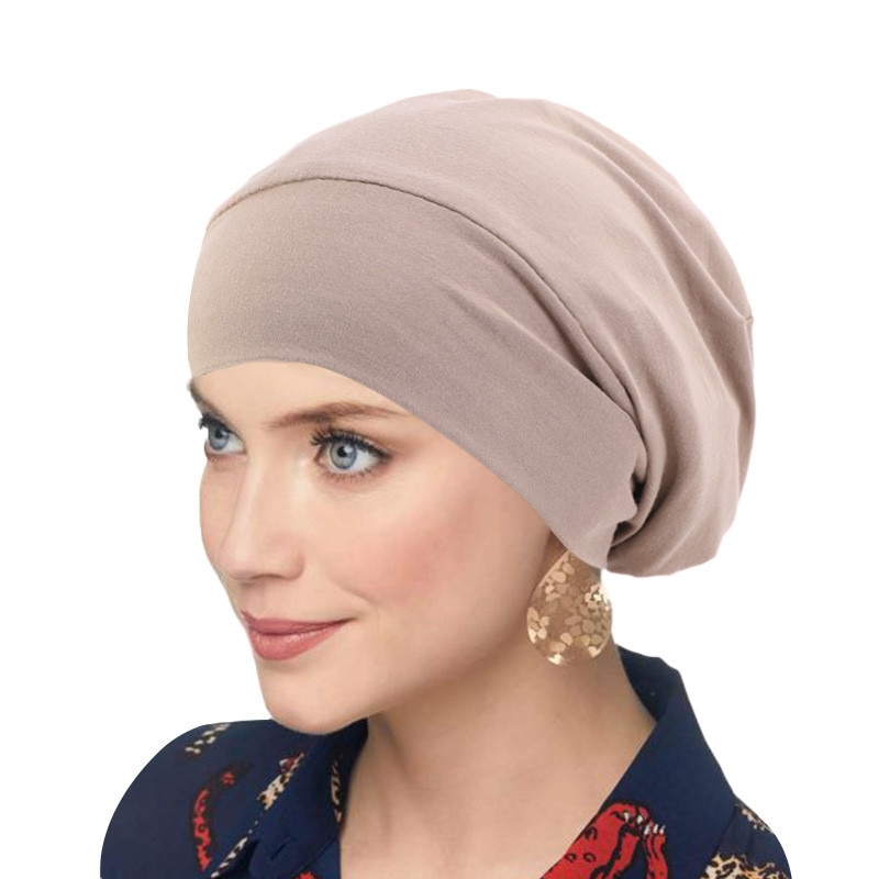 Satin Lined Turban Cap (9 Colors)