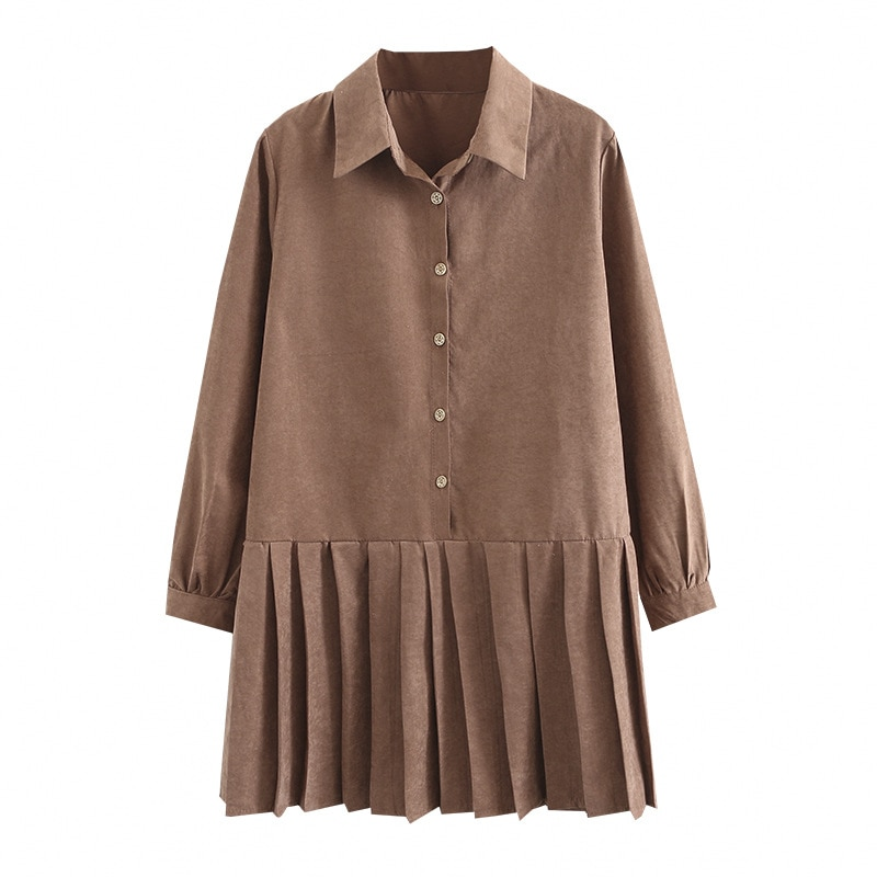 The New Classic Shirt Dress (4 Colors)
