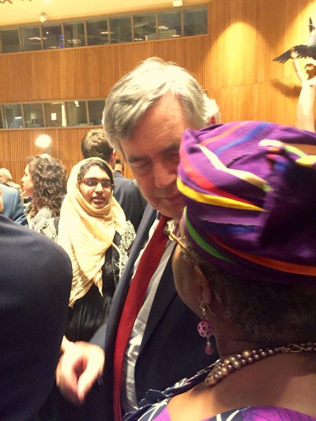 Gordon Brown Backs Okonjo-Iweala's WTO-DG Bid. Ngozi Reacts