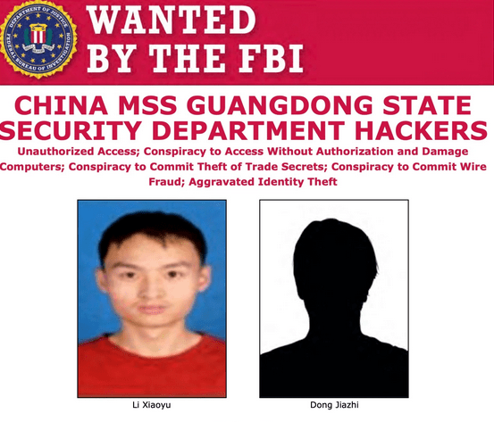 US charges two Chinese spies for a global hacking campaign that targeted COVID-19 research