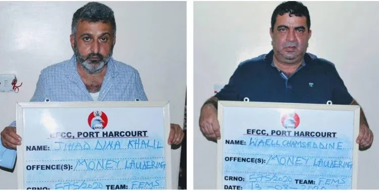 Court jails two Lebanese, orders forfeiture of $ 890,000
