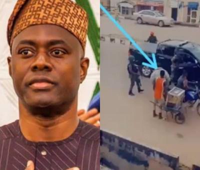 EndSARS: Governor Seyi Makinde Walks Around Ibadan Streets, Addresses Protesters