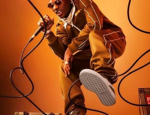 Wizkid Announced As New Face Of Puma Sportswear In Striking New Campaign Images