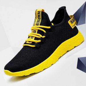 Men Running Shoes Sports Men's Sport Shoes Jogging Black Sneakers Man