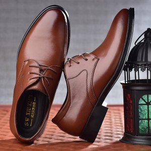 Men's Business Dress Men's Shoes with Casual Sneakers