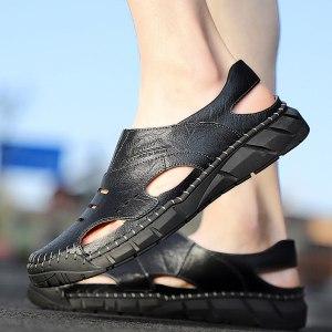 High-top Trendy retro men's casual shoes