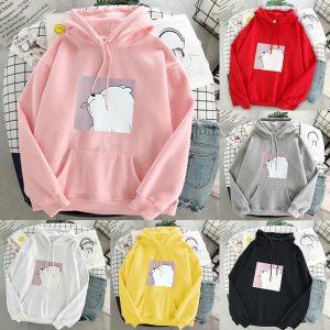 Hoodie oversized Sweatshirts Hooded Pullovers Women sweatshirt