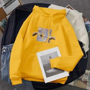 Streetwear Sweatshirt Hoodies Oversize Pullover