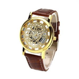 Luxury Brand Men Watch New Men Clock Men's Date Leather Watches