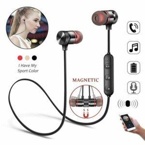Bluetooth Earphone Sports Neckband Wireless earphones Stereo Bass
