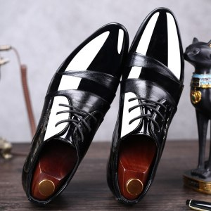 Men's Business Pointed Toe Casual Shoes Men Wedding Shoes