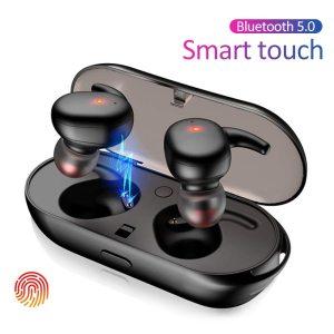 TWS4 Bluetooth 5.0 Wireless Touch Earbuds Earphones Waterproof