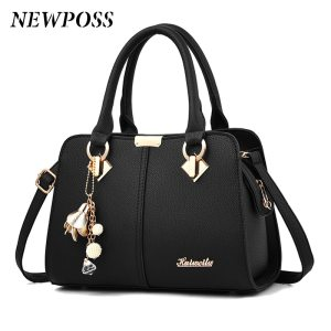 Women Leather Handbags Luxury Ladies Hand Bags Purse Fashion Shoulder Bags