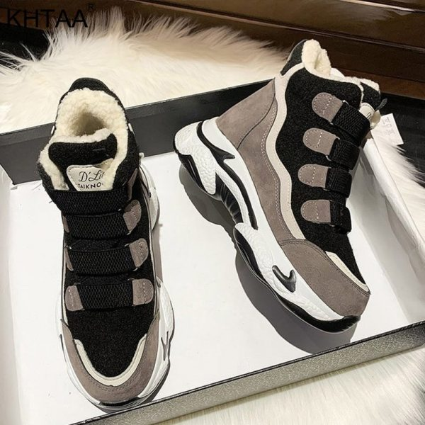 Women's Sneakers Fashion Casual Ankle Boots Shoes Woman