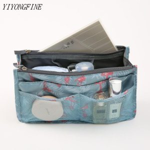 Organizer Insert Bag, Women Nylon Travel Insert Organizer, Handbag, Purse