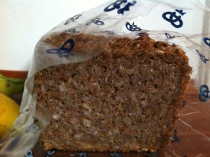 Sprouted wheat bread, Denmark