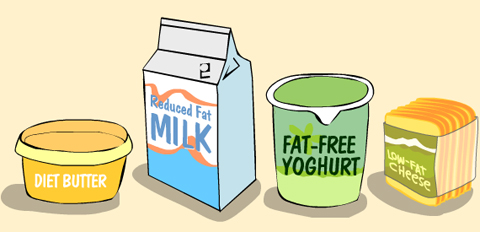 The low-fat campaign