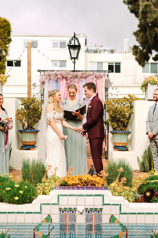 Darlington House wedding ceremony - www.marycostaweddings.com