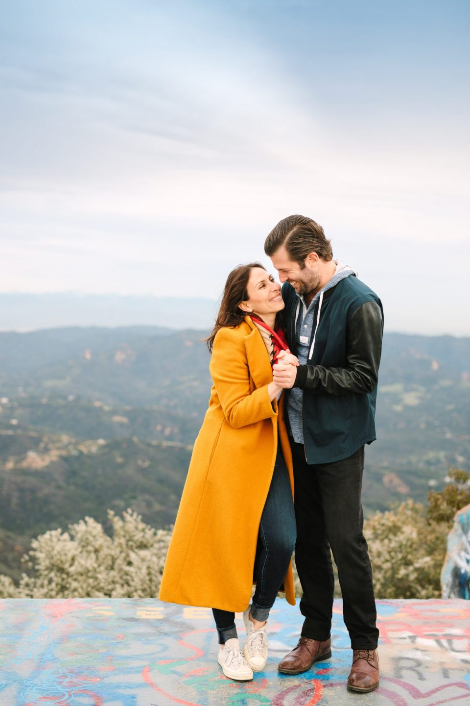 Autumn engagement session in Topanga, CA by Mary Costa Photography