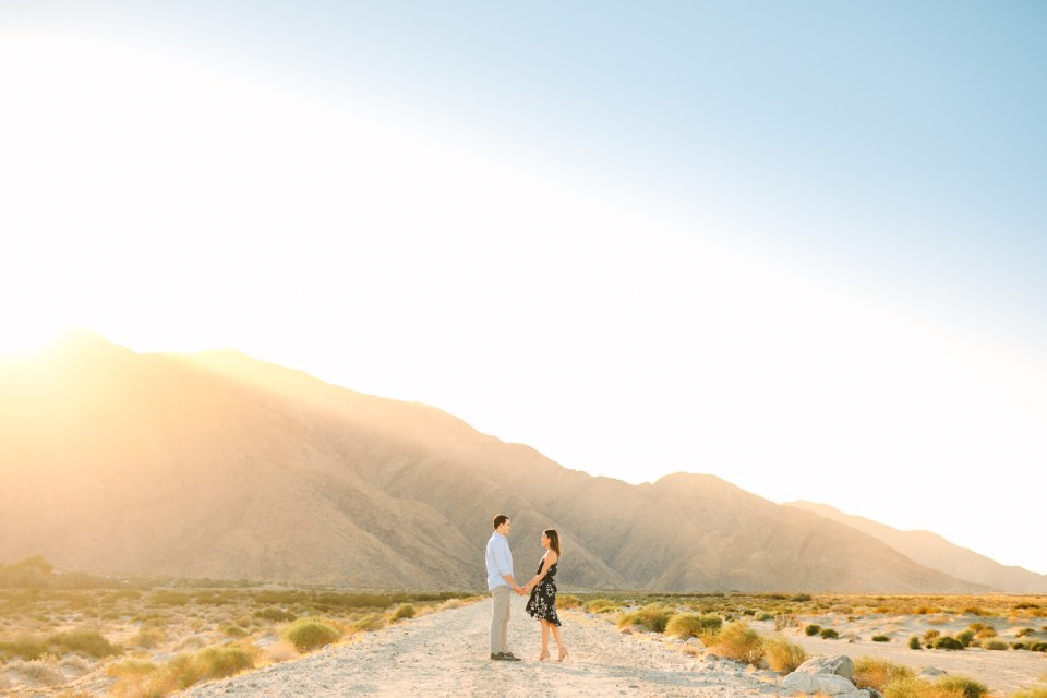 Palm Springs mountain engagement session www.marycostaweddings.com
