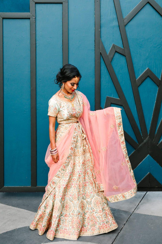 Bride at Fig House Los Angeles - www.marycostaweddings.com