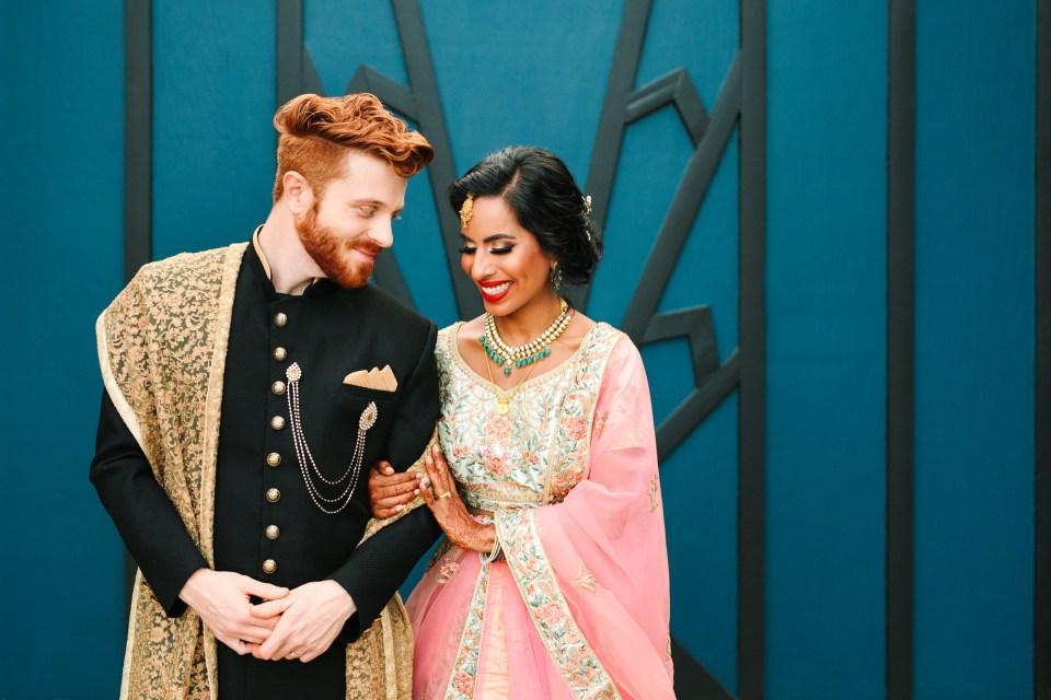 Indian Fusion wedding at Fig House - www.marycostaweddings.com