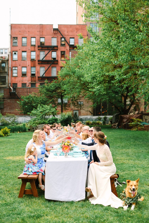 NYC Marble Cemetery Micro Wedding - www.marycostaweddings.com