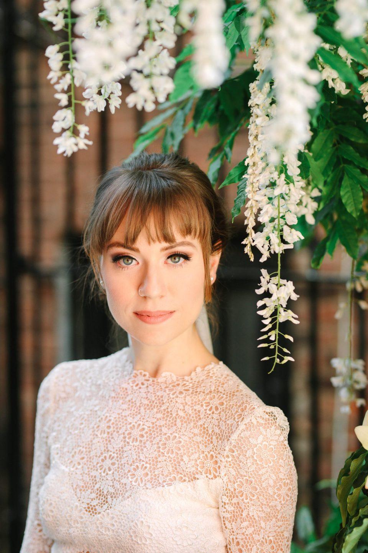 Beautiful bridal portrait - www.marycostaweddings.com