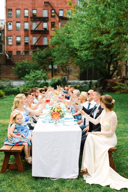 Micro Wedding in New York Marble Cemetery - www.marycostaweddings.com