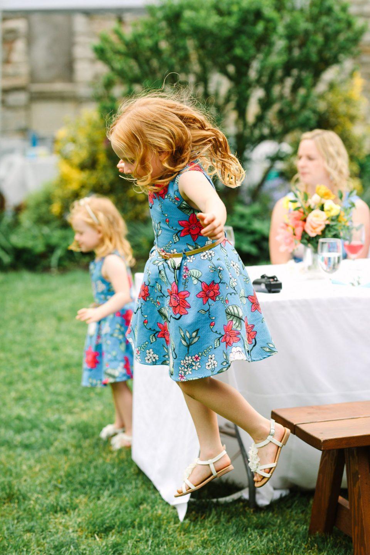 Kids having fun at wedding - www.marycostaweddings.com