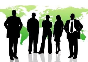 bild på yrkespersoner för att illustrera olika yrkesroller inom digital marknadsföring