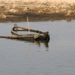 båt som sjunkit och tagit in vatten för att illustrera att en dålig plattform kan sänka en sajt