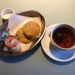 Scones och te på Haymarket i Stockholm, bloggträff med Fredrik från WelcheMusic
