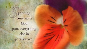 Distract, Distractions, Spending Time With God
