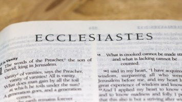 """The Book of Ecclesiastes"""