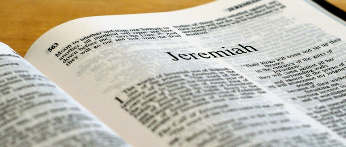 """The Book of Jeremiah"""