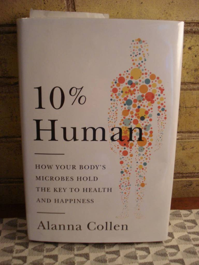 "Book: ""10% Human"" by Alanna Collen."