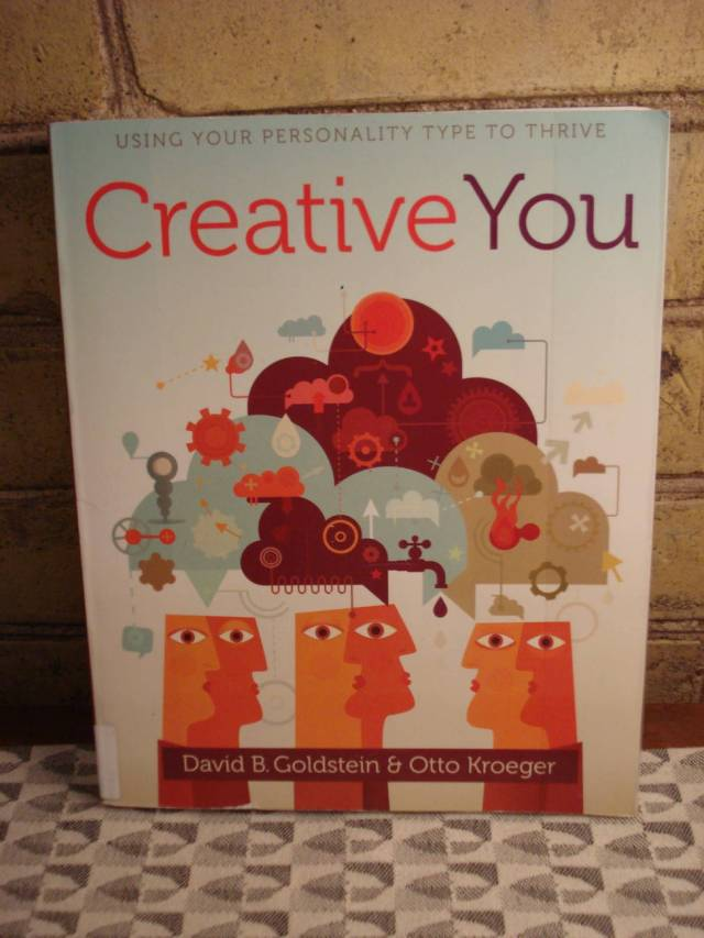 """Book: """"Creative You"""" by David B. Goldstein and Otto Kroeger."""