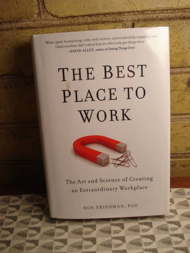 The Best Place to Work by Ron Friedman.