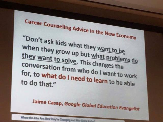What do I need to learn quote by Jaime Casap.