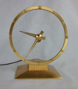 Jefferson Golden Hour Electric Clock, 2018.