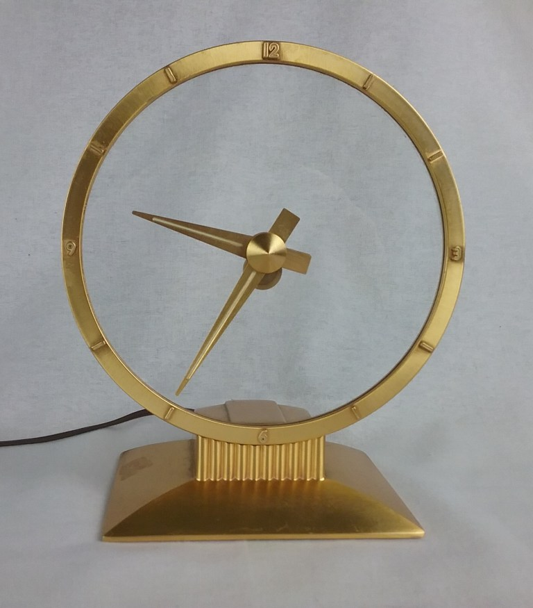 Jefferson Golden Hour Electric Clock, 2018.