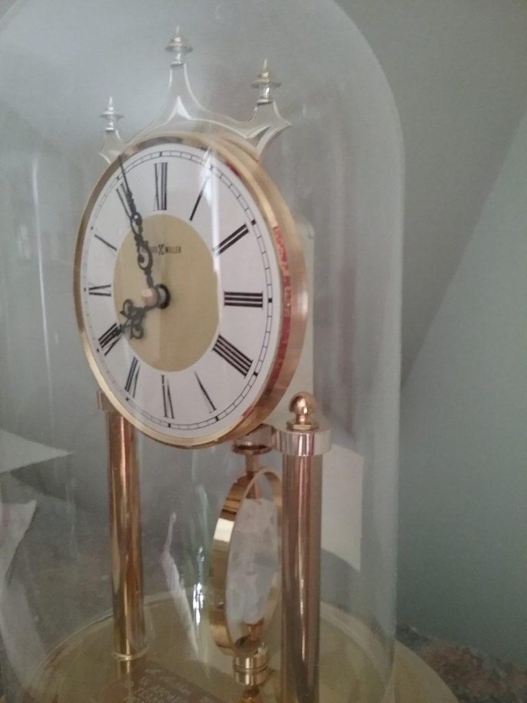 Anniversary clock, 2018.