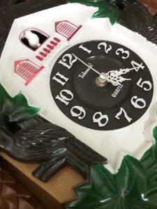 Telesonic Quartz cuckoo clock, 2018.