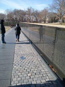 The Vietnam Veterans Memorial (The Wall), 2019.