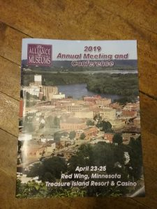 Minnesota Alliance of Local History Museums annual conference program, 2019.