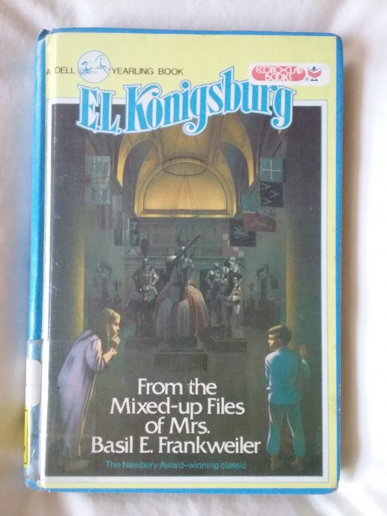 From the Mixed-up Files of Mrs. Basil E. Frankweiler by E.L. Konigsburg.