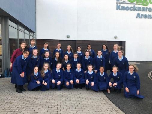 School Choir at Sligo Feis 2