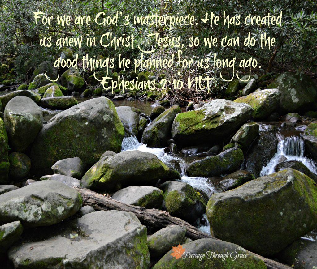Letting go-Eph 3-20