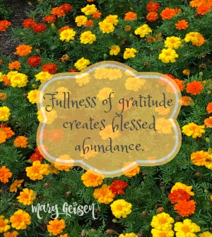 Sabbath Offerings ~ Blessed Abundance